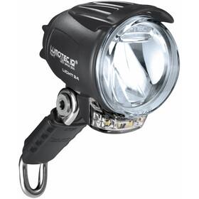 Busch + Müller IQ Cyo Premium T Lampe frontale capteur + support +éclairage diurne, black